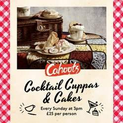 Cocktail Cuppas & Cakes