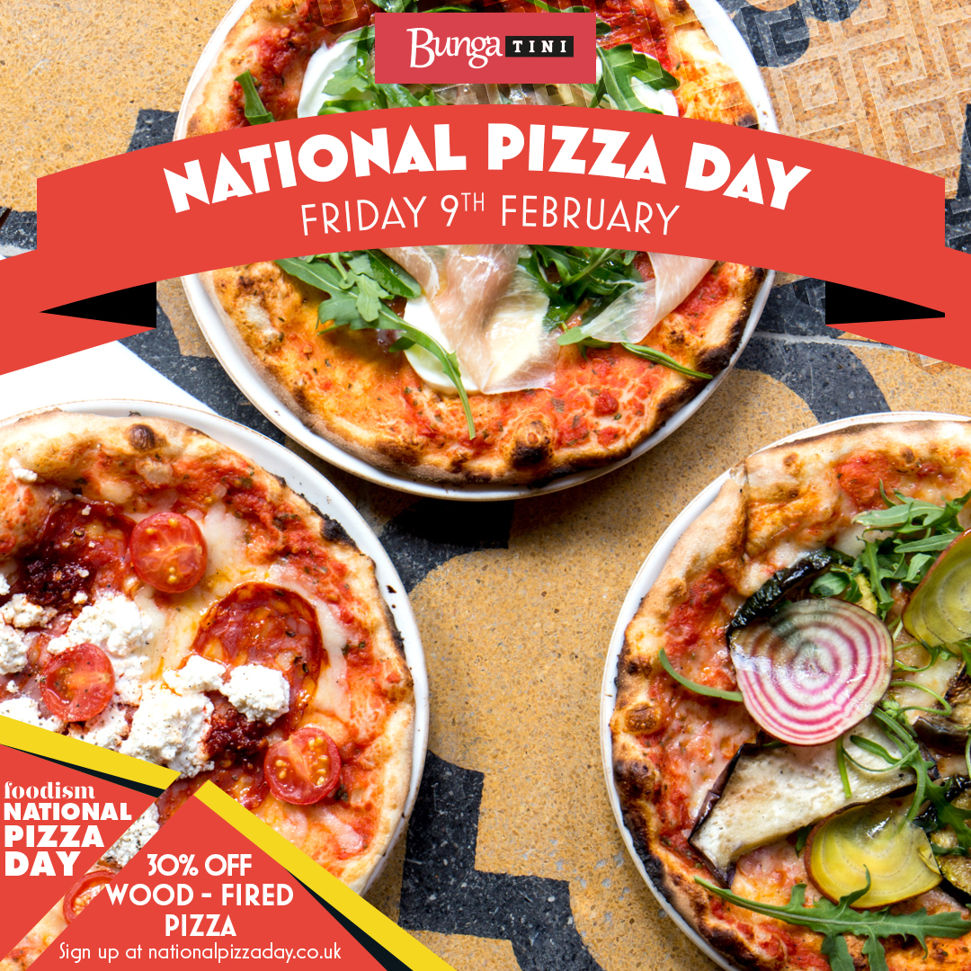 National Pizza Day at TINI