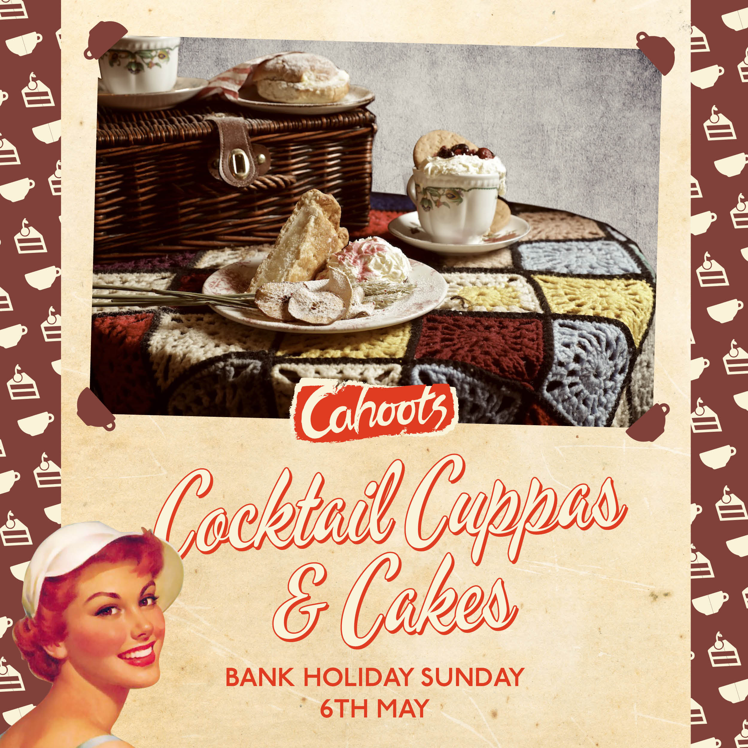 Bank Holiday Cocktail Cuppas & Cakes