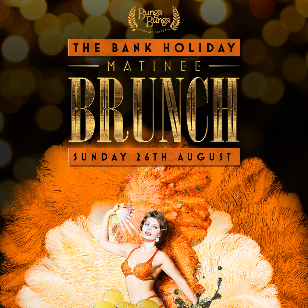The Bank Holiday Matinee Brunch