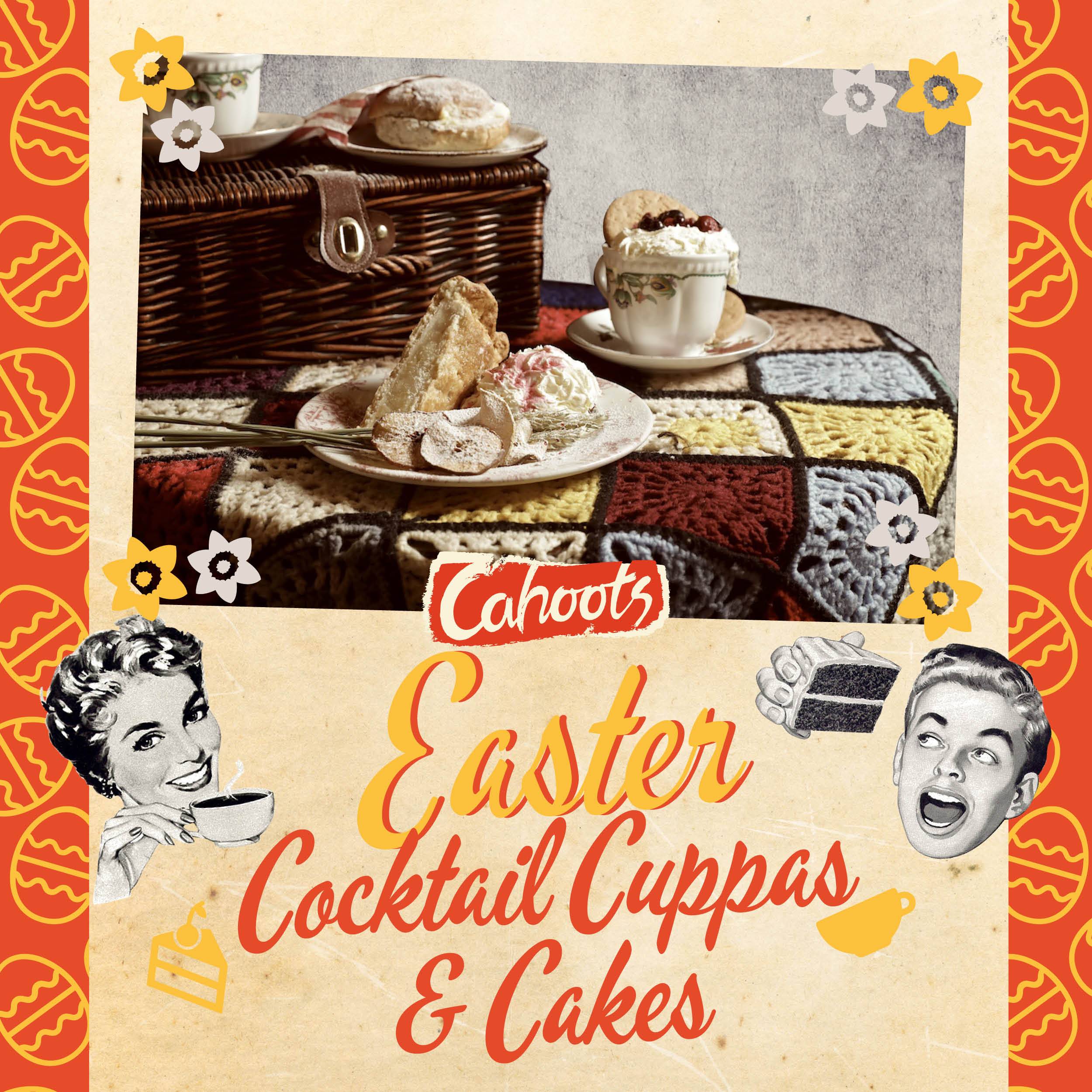 Easter Cocktail Cuppas & Cakes